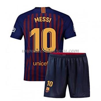 Dětský fotbalový dres Barcelona Lionel Messi 10 domáci dresy 2018-19