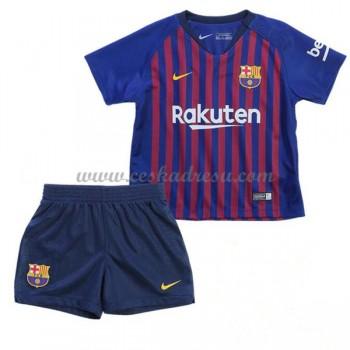 Dětský fotbalový dres Barcelona domáci dresy 2018-19