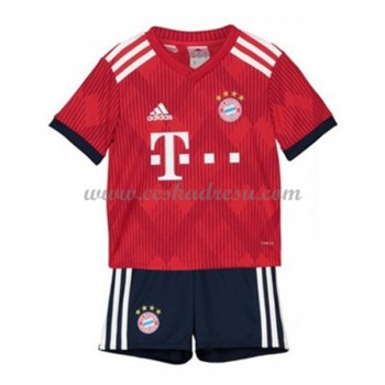 Dětský fotbalový dres Bayern Mnichov domáci dresy 2018-19
