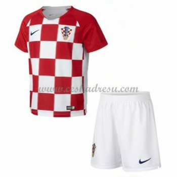 Dětský Fotbalový Dres Komplet Chorvatsko MS 2018 Domáci Dresy