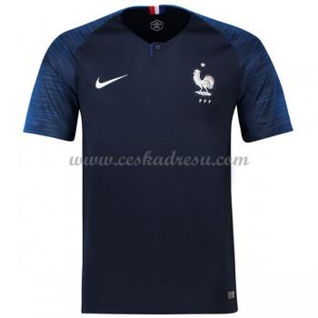 Fotbalové Dresy Levně Francie MS 2018 Domáci Dres